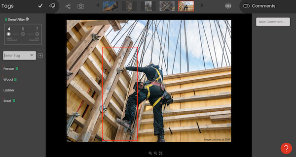 Smartvid identifies jobsite risks