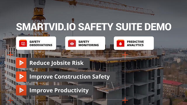 Smartvid.io's AI-based Safety Suite demo
