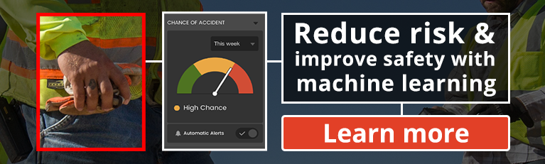 Reduce risk and improve safety with machine learning