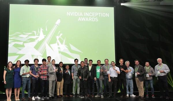 NVIDIA inception awards 2017